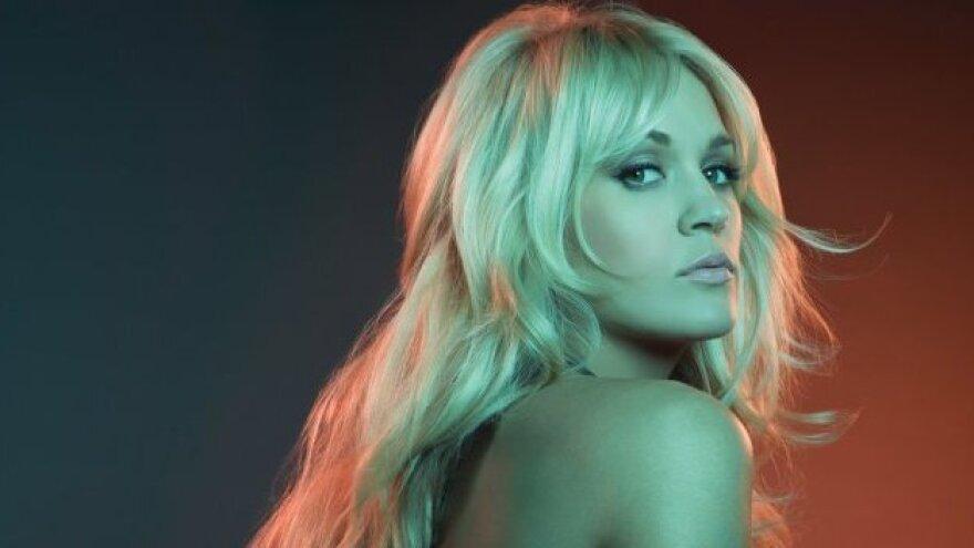Carrie Underwood's new album is <em>Blown Away</em>.