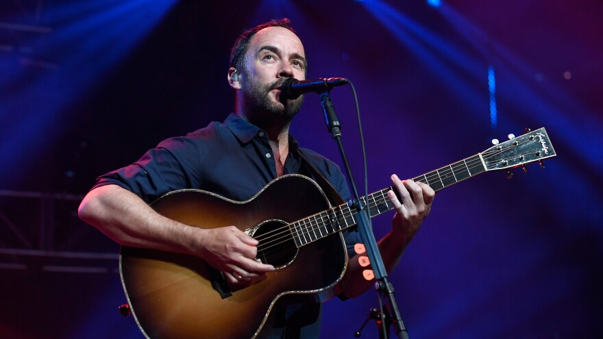 """""""I don't even know if I deserve at age 51 to have this much joy on stage,"""" Dave Matthews says."""