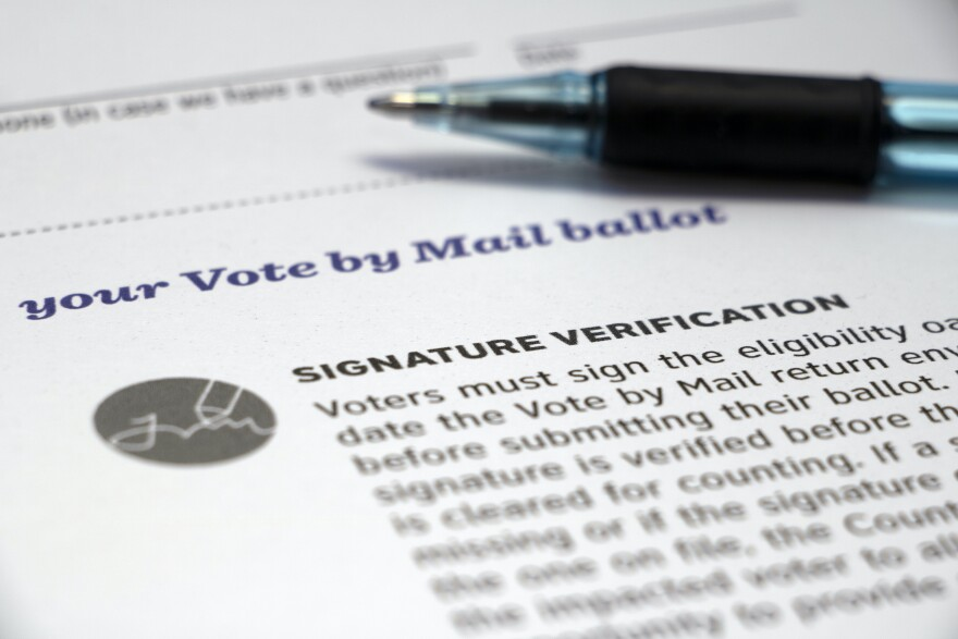 A Trump campaign lawsuit is targeting the signature verification process in Clark County, Nev.