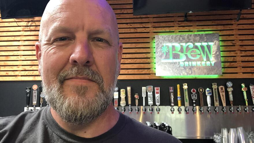 Christian Piatt, co-owner of the Brew Drinkery in Granbury, Texas, was forced to close his brewery's doors due to the coronavirus less than two months after he opened.