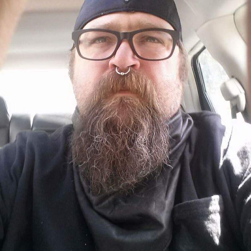 Eric Huestis was blocked from driving for Uber in Burlington, Vt., after he received a governor's pardon for past marijuana possession convictions. Uber later restored Huestis.