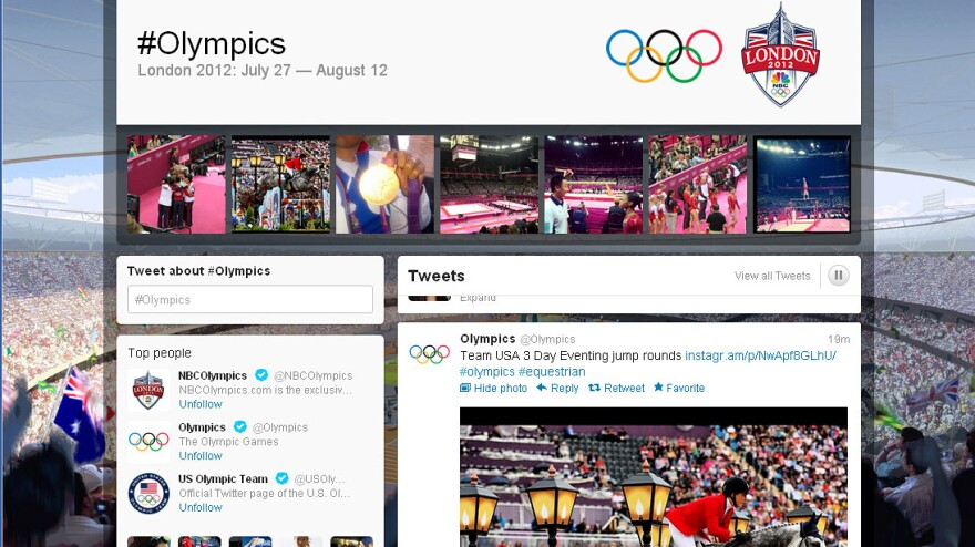 """The London Games have lived up to their hype as the first truly """"social"""" Olympics. But social media like Twitter have also brought embarrassments, and even an arrest."""