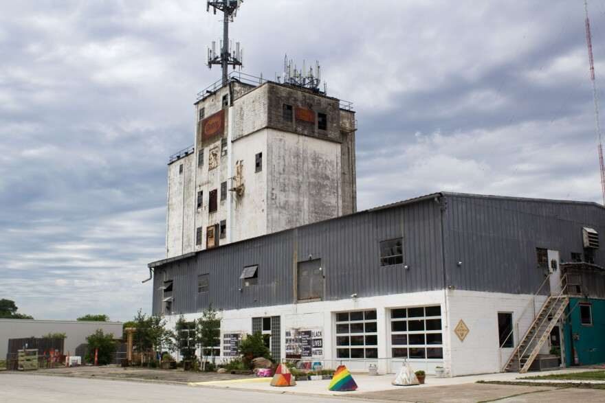 Lockwood Cafe and old Doboy Feed Mill