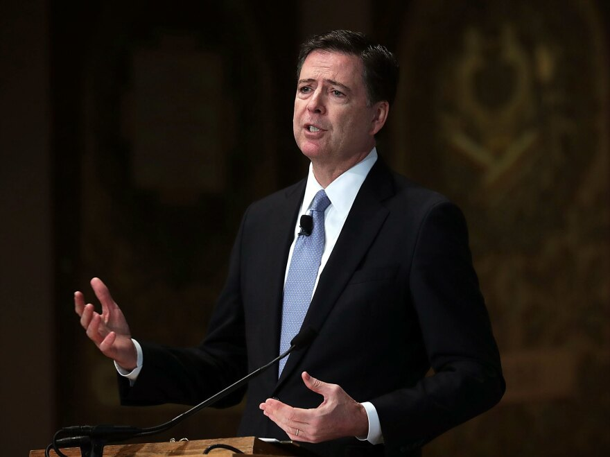 Former FBI Director Comey has tried to keep a low public profile since his surprise firing by President Trump in May.
