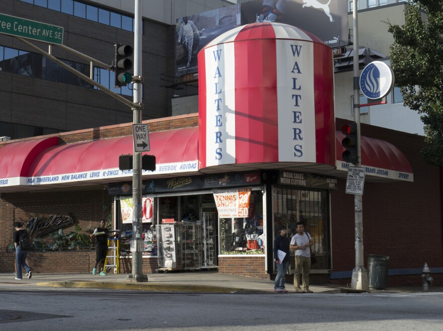 Walters Clothing is an Atlanta institution that's attracted celebrities — and confrontation.