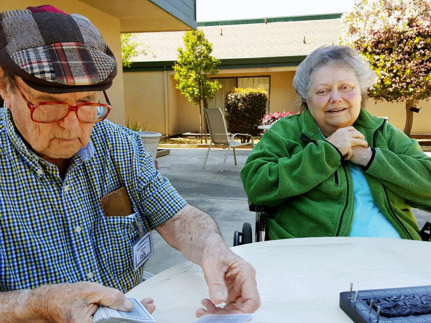 Mel Nickerson moved his wife, Donna, to the Turlock Rehabilitation and Nursing Center in April. She has Alzheimer's disease, and he realized he could no longer care for her safely at home.