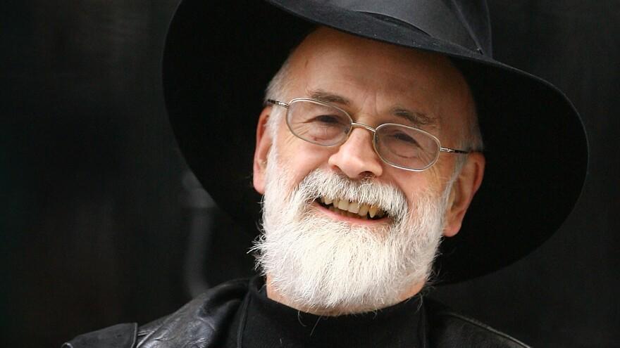 Terry Pratchett, pictured in 2008 in London.