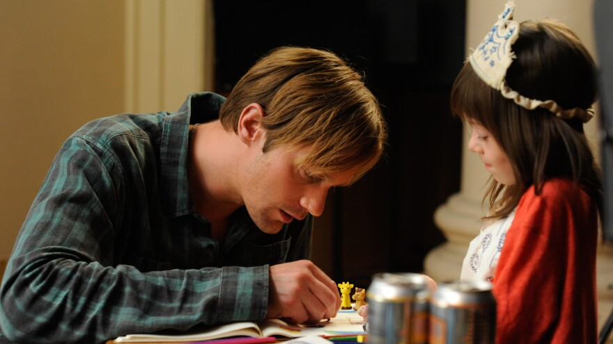 <em>True Blood</em> star Alexander Skarsgard turns in a sensitive performance as a sort of surrogate dad for the poorly parented title character (a restrained Onata Aprile) in <em>What Maisie Knew,</em> a quietly stirring update of the Henry James novel.
