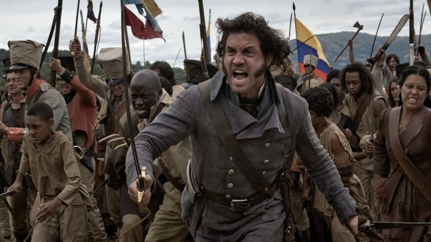 One of the things <em>The Liberator</em> gets right is the multiracial faces of Simon Bolivar's revolution. The film stars Edgar Ramirez.