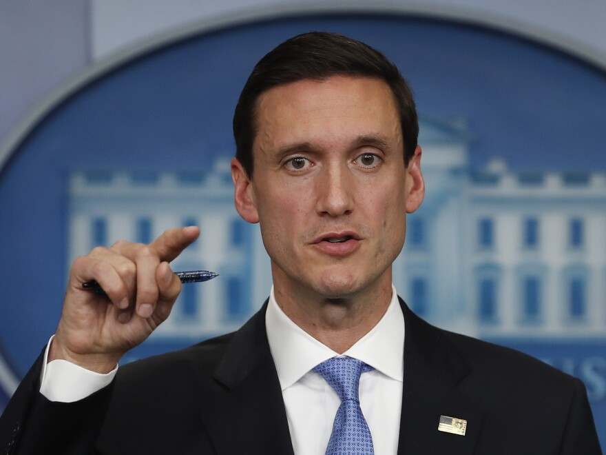 White House homeland security adviser Tom Bossert has resigned, the administration announced Tuesday.