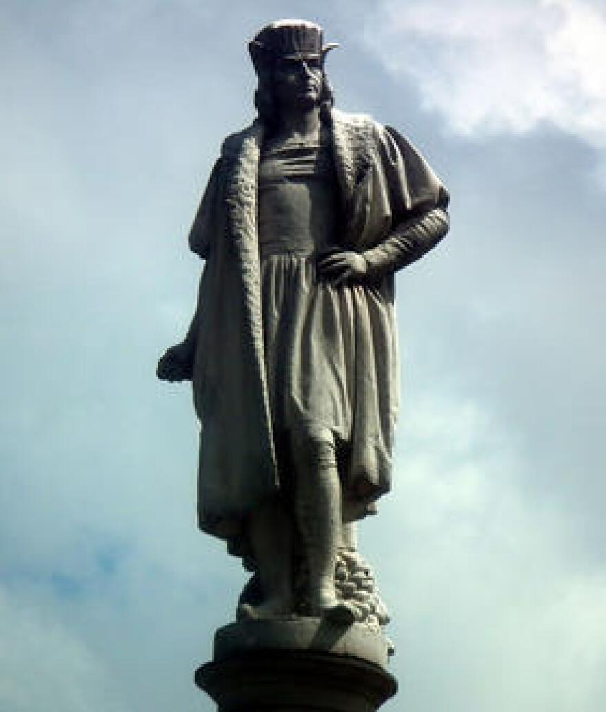 Columbus statue, NYC.