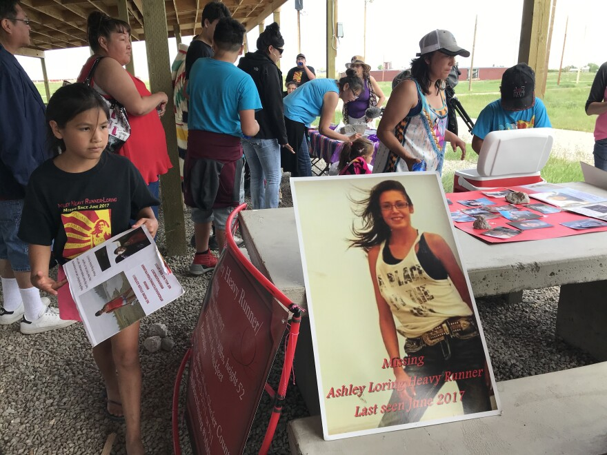 21-year-old Ashley Loring went missing from the Blackfeet Reservation in Montana in June of 2017.