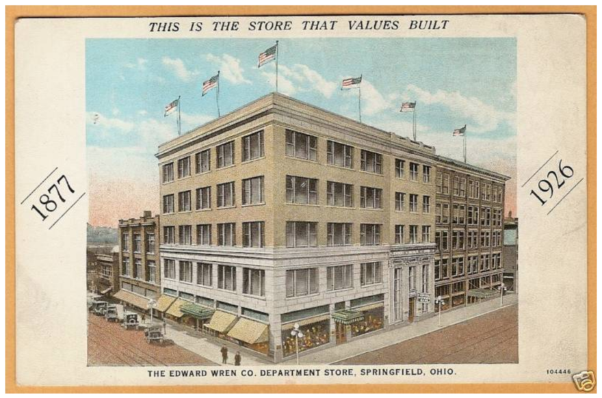 The 1921 Wren's Department Store building was purchased in 2015 by Turner Foundation real estate affiliate Wellington Square. Shortly after that, the property was listed on the National Register of Historic Buildings.