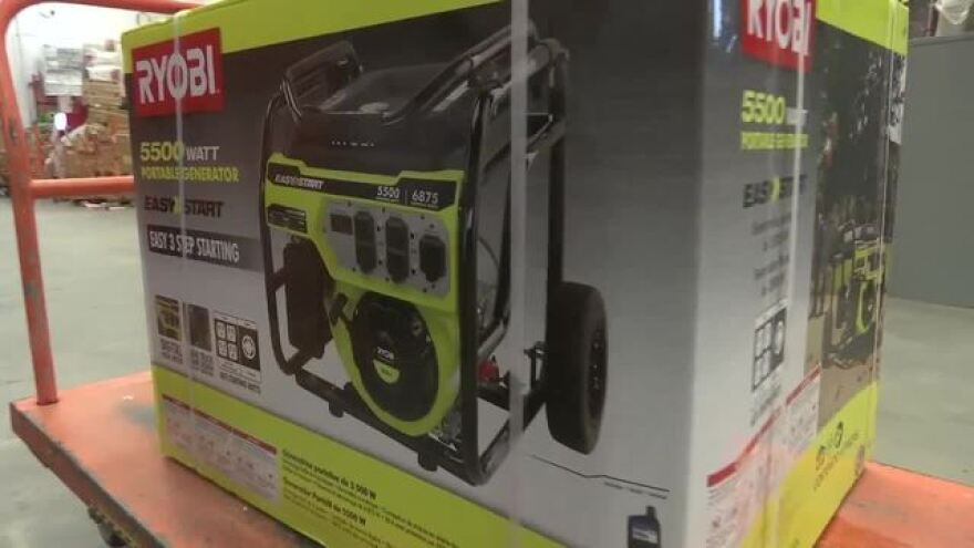 Disaster preparedness sales tax holiday begins Friday, and includes items like generators, flashlights and batteries.