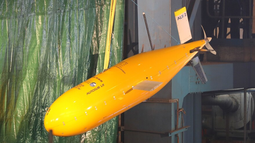 Boaty McBoatface undergoes preparations last year in Birkenhead, England. By the assessment of the British Antarctic Survey, Boaty discharged its duties on its inaugural voyage surpassingly well.