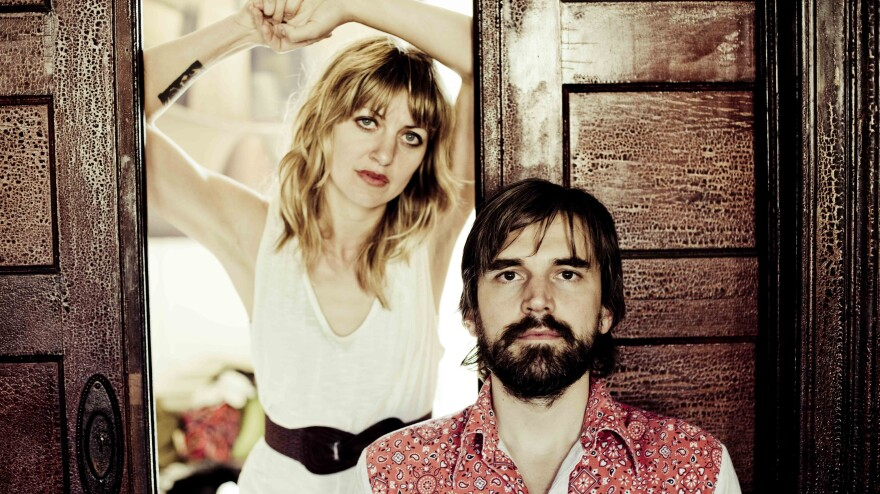 Anais Mitchell and Jefferson Hamer's new collaborative album is titled <em>Child Ballads</em>.