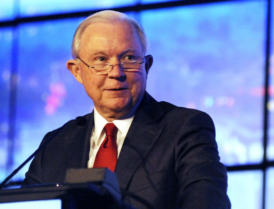 Former U.S. Attorney General Jeff Sessions is entering a crowded GOP primary field to try to win back his old Senate seat representing Alabama.