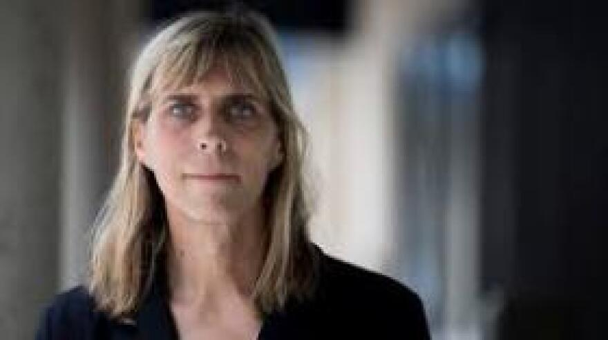 Sasha Buchert is a transgender woman, a Marine veteran, and a lawyer with Lambda Legal. Lambda Legal is suing the government over the transgender ban.