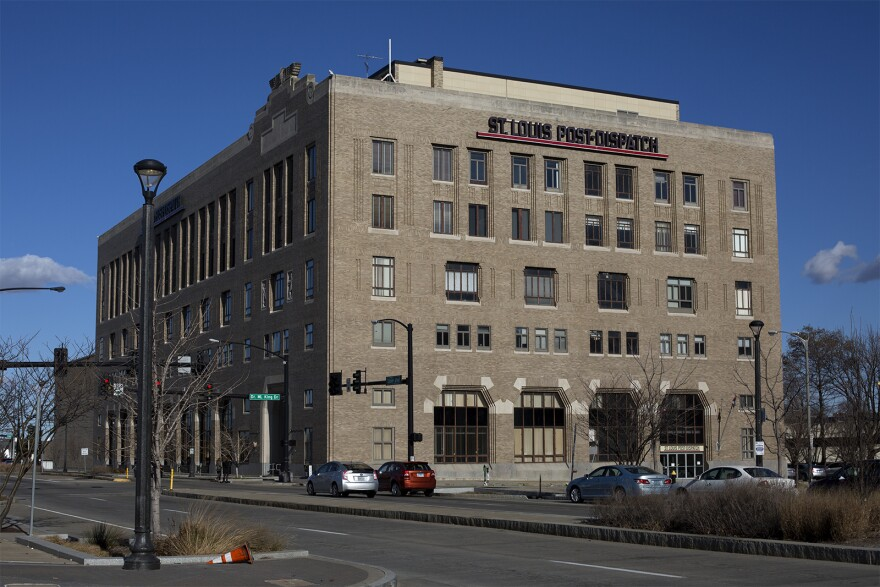 The Post-Dispatch headquarters has been on North Tucker Boulevard in downtown St. Louis for decades.