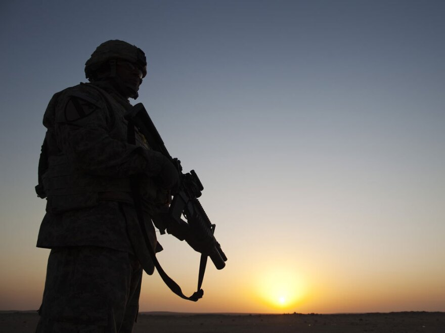 After U.S. troops pulled out of Iraq, officials are talking cuts in the defense budget.