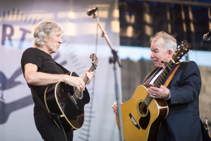 Roger Waters and John Prine.