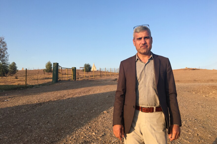 Abdullah Shrim, a former beekeeper, is credited with rescuing more than 300 Yazidi women and children held captive by ISIS.