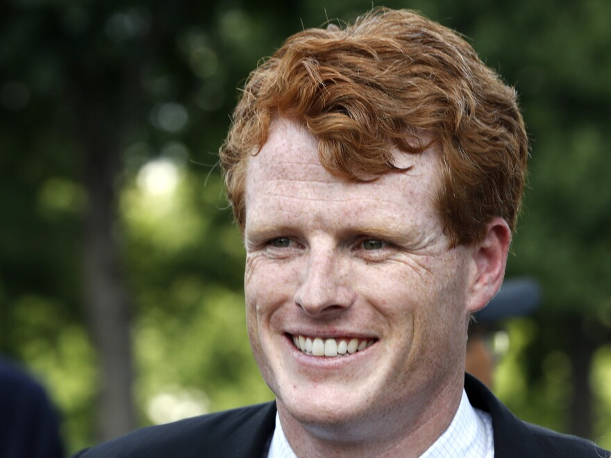 Rep. Joe Kennedy, D-Mass., will deliver the Democratic response to President Trump's State of the Union address Tuesday.