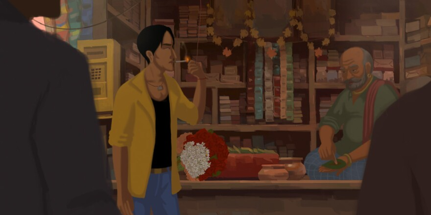 Gitanjali Rao's hand-painted animated feature <em>Bombay Rose</em> follows several characters through the streets of Mumbai.