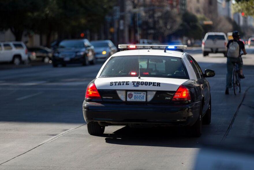 Texas State Trooper car