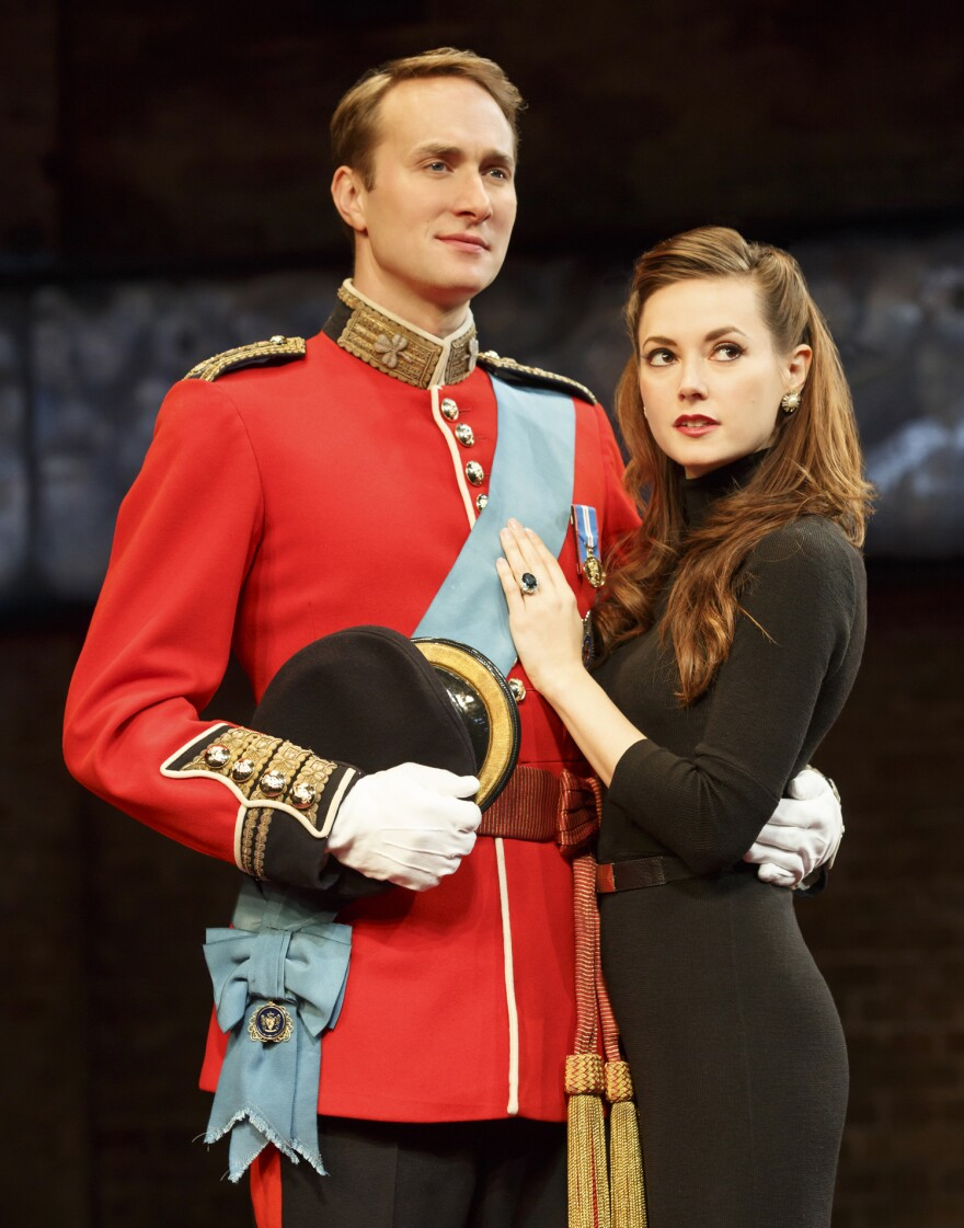 Lydia Wilson plays a media-savvy, Machiavellian Kate Middleton in <em>King Charles III.</em>