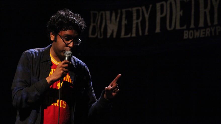 Brooklyn-based comic Hari Kondabolu