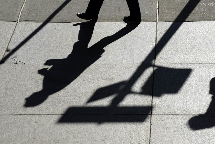 Nearly 10 million people in the U.S. live with a serious mental illness, and for many, that complicates finding and maintaining work. (Timothy A. Clary/AFP/Getty Images)