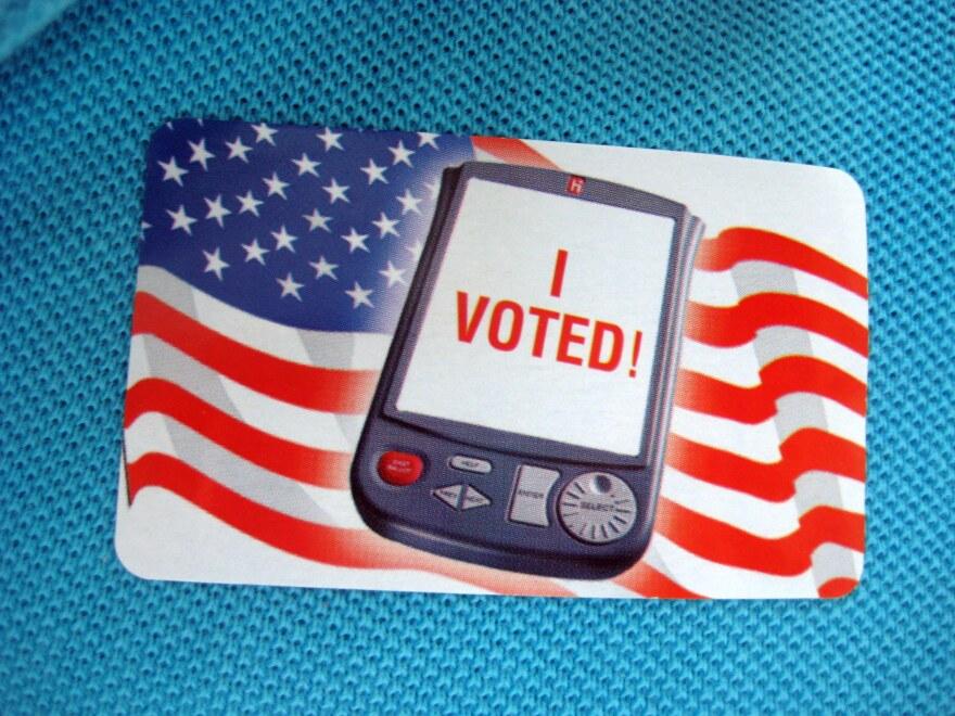 """I Voted Sticker"""