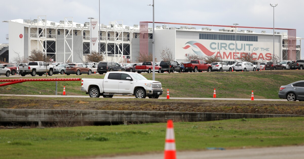 Central Texas Counties Vaccinate 3,000 People In Test Run For Mega Site At Circuit Of The Americas