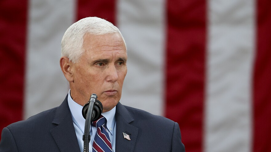 The Constitution created a role at the end of the presidential election process for vice presidents, and it has been an uncomfortable one on numerous occasions. That's likely to be the case for Vice President Pence on Wednesday as well.