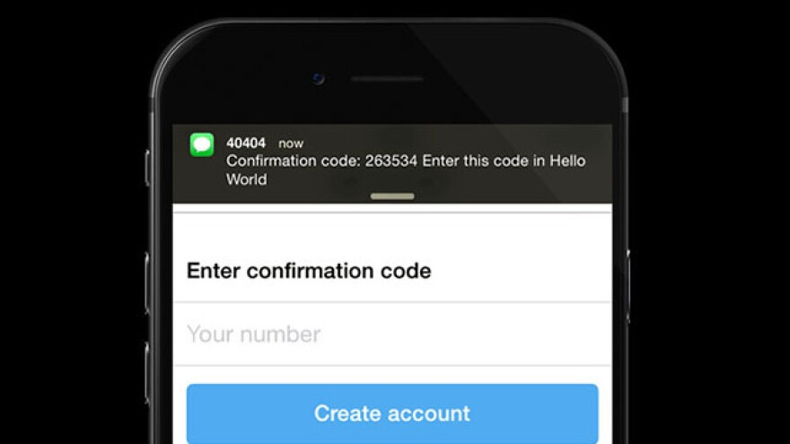 Apps working with Digits, a new Twitter service, would simply ask for your phone number instead of a password.