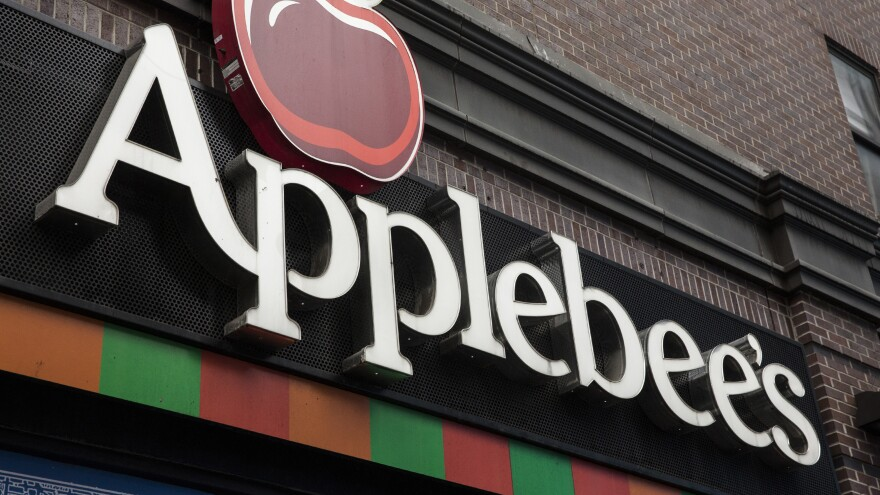 An Applebee's restaurant is seen on Dec. 1, 2015 in New York City.