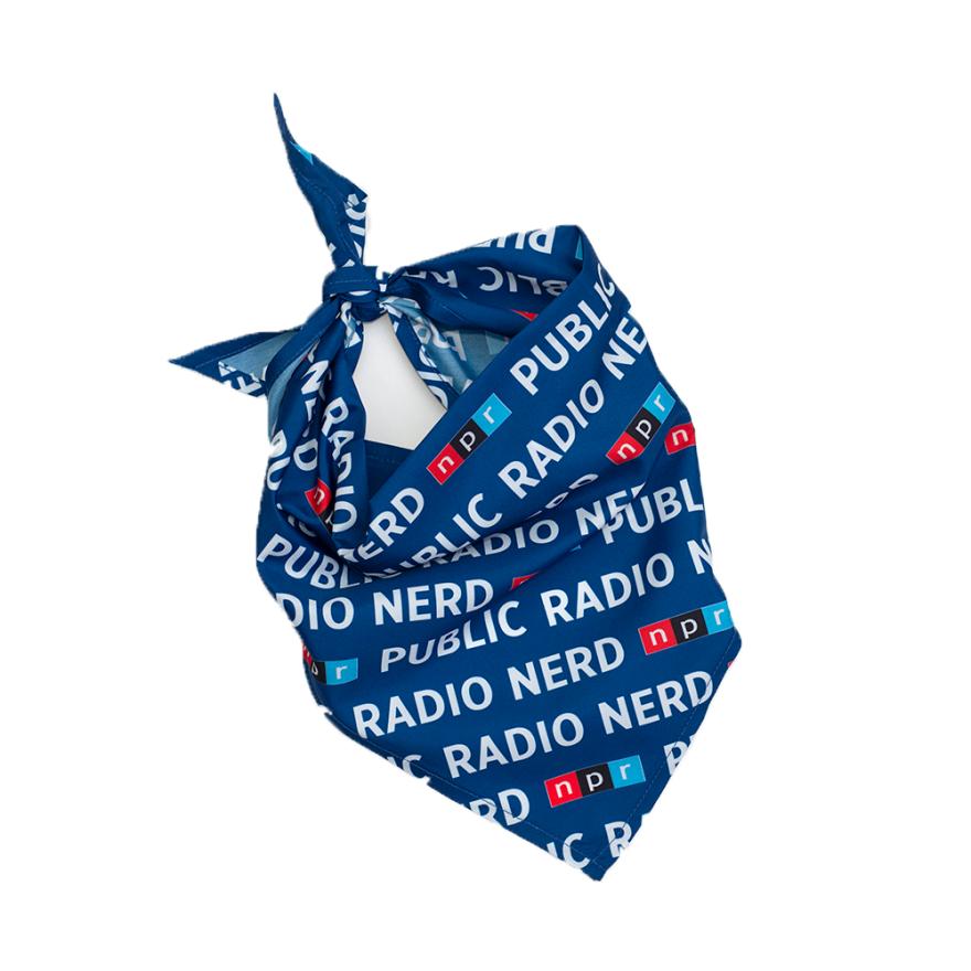 NPR Pet Bandana