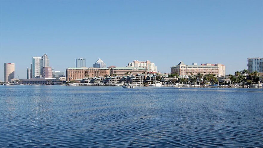 Photo of downtown Tampa waterfront