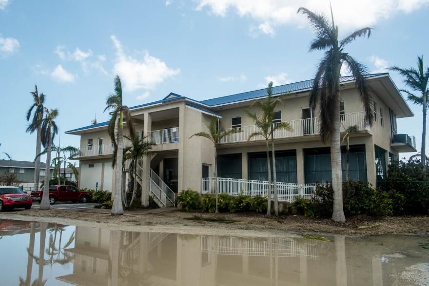 U.S. 1 Radio studios in Sugarloaf Keys lost power, internet and water during Hurricane Irma.