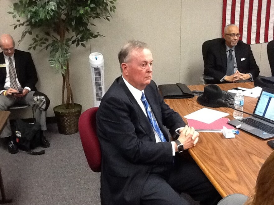 Board members voted to appoint Roger Dorson as Interim Education Commissioner