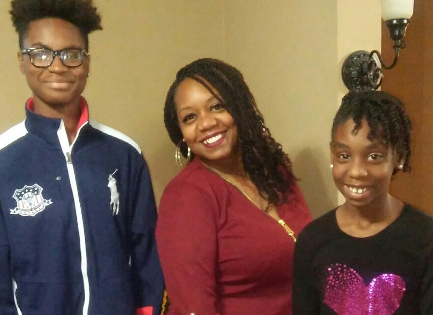 Shammara Smith's son, Ahmon, is a sophomore at Oakville High. Her daughter, Ahmiya, is in fifth grade at Blaze Elementary in the Mehlville school district.