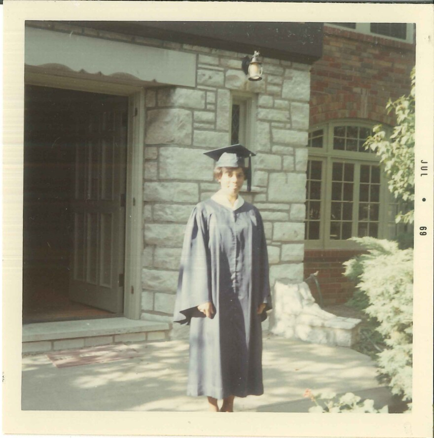 After graduating from University City High School in 1969, Judy Gladney attended Howard University.