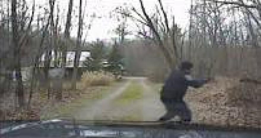 photo of Hudson police dashcam footage