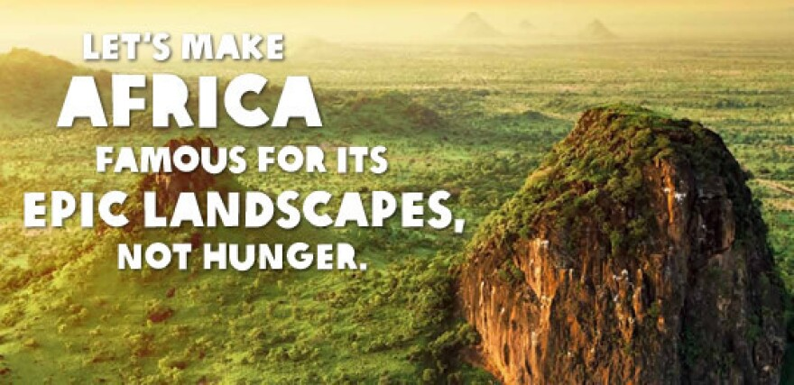 An image from Oxfam's 2014 Food for All Campaign.