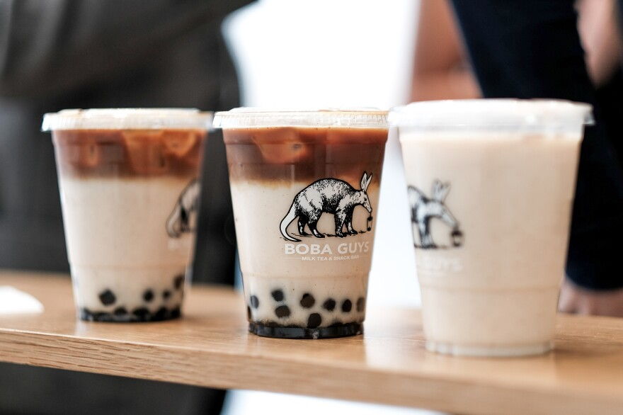 Dirty Horchata from Boba Guys: Boba Guys and its competitors hope revamped offerings will draw in coffee and tea drinkers.