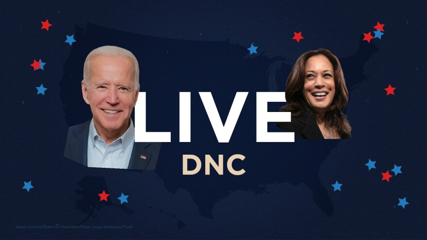Live DNC with Joe Biden and Kamala Harris