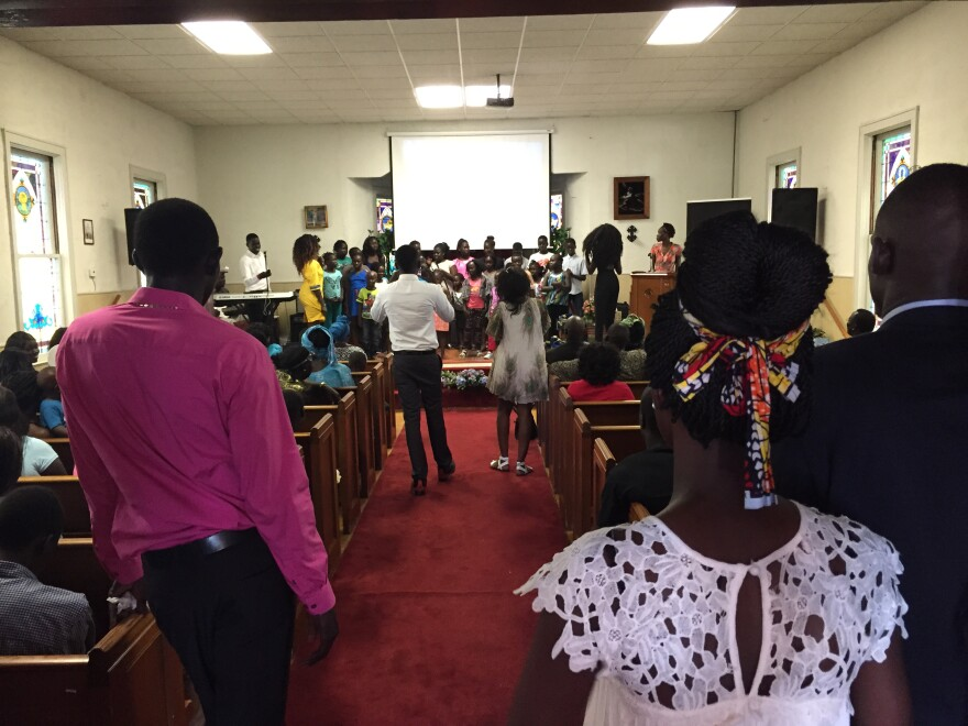 Youth Group at Harlem Baptist Church