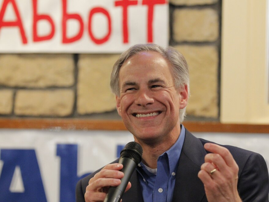 Republican gubernatorial candidate Greg Abbott is expected to easily win his primary Tuesday, and likely keep the office in GOP hands come November.