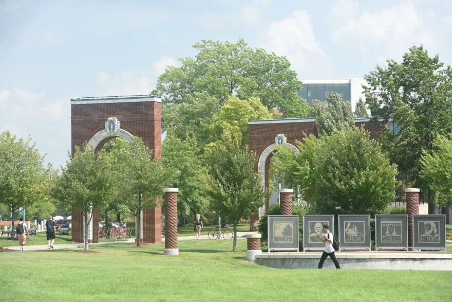 a photo of Akron campus
